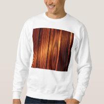 colorful wood texture varnished wood sweatshirt