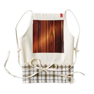 colorful wood texture varnished wood zazzle HEART apron