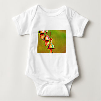 Colorful Wooden Chimes Baby Bodysuit
