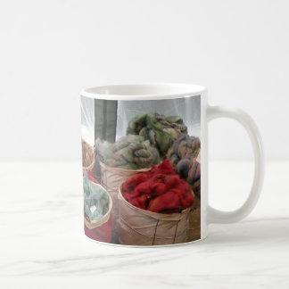 Colorful wool mug
