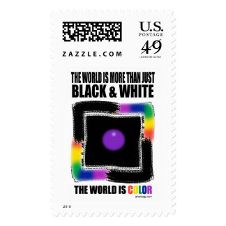 Colorful World by Gregory Gallo Stamp