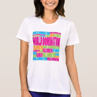 Colorful World Domination Tees