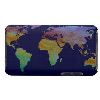 Colorful World Map iPod Touch Case-Mate Case
