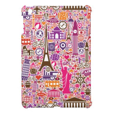 Colorful World Pattern Case For The iPad Mini
