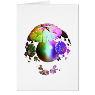 Colorful World theme for you and your friends Card