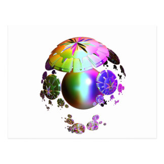 Colorful World theme for you and your friends Postcard