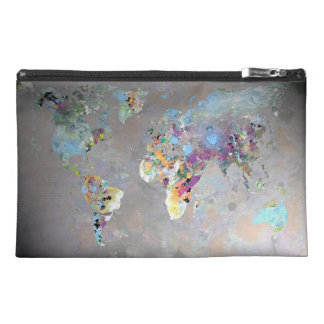 Colorful World Travel Accessories Bags