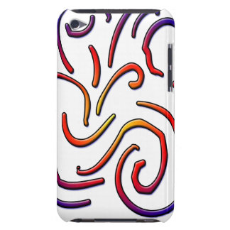 Colorful worm lines iPod touch Case-Mate case