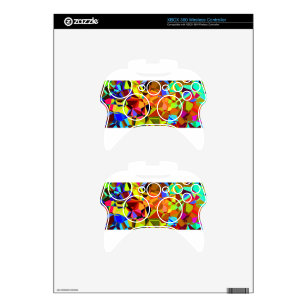Colorful Xbox 360 Controller Skin