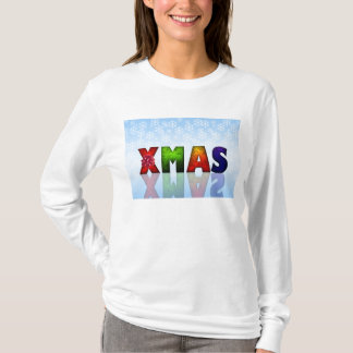 Colorful Xmas Design T-Shirt
