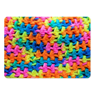 Colorful Yarn Large Business Cards (Pack Of 100)