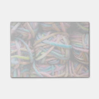 Colorful Yarn Post-it® Notes