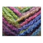 Colorful Yarn Valley Postcard