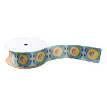 Colorful Yin Yang Pattern Satin Ribbon