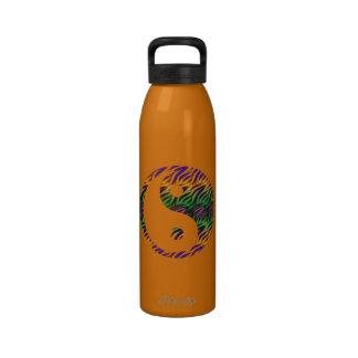 Colorful Yin Yang Water Bottle