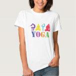 Colorful Yoga Design T-Shirt