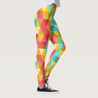 Colorful Yoga Triangles Leggings