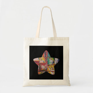 Colorful Zazzle star statue of liberty bag