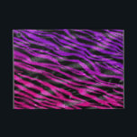 """Colorful zebra fur skin Powis ipad case<br><div class=""""desc"""">This powis ipad  cover is made from a purple and pink zebra fur print design</div>"""
