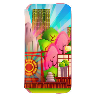 Colorful Zen City Case