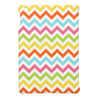 Colorful Zig Zag Chevrons iPad Mini Cover