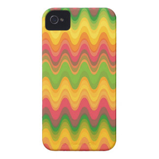 Colorful Zig Zag Pattern Chevron iPhone 4 CaseMate iPhone 4 Cover
