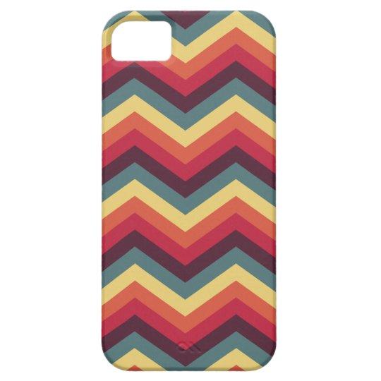 Colorful Zigzag Chevron Pattern iPhone SE/5/5s Case
