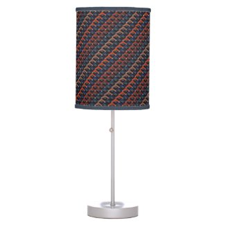 Colorful zigzag Karo-steps Table Lamp