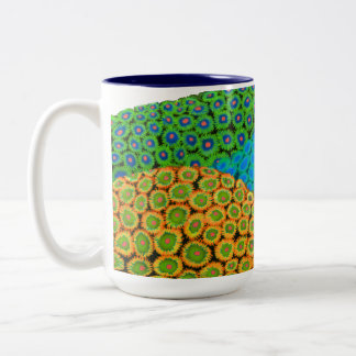 Colorful Zoanthids Soft Coral Colony Mug