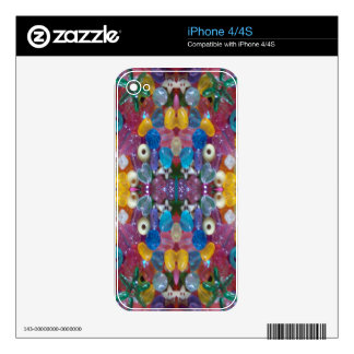 ColorfulBeadyConduct Decal For The iPhone 4S