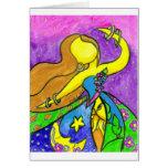 ColorfulDress Greeting Card