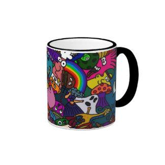 Colorfull 100% de la taza de Toonymania