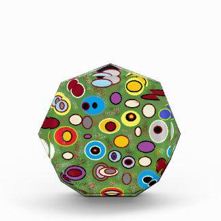 Colorfull abstract acrylic award