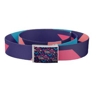Colorfull Aztec Tribal Print Belt