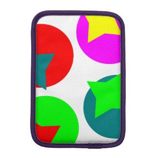 Colorfull Circles design iPad Mini Sleeve