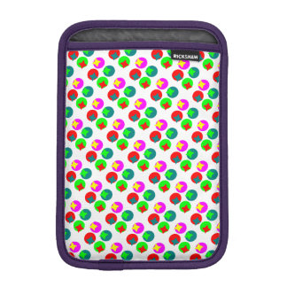 Colorfull Circles design iPad Mini Sleeves