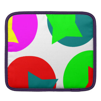 Colorfull Circles design Sleeve For iPads