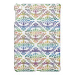 colorfull damask iPad mini cover