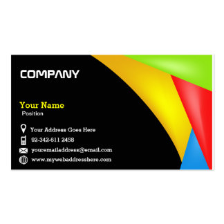 Colorfull Eye Catching Business Card Design