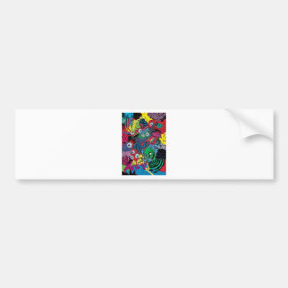 colorfull gouls bumper stickers