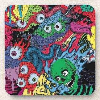 colorfull gouls coaster