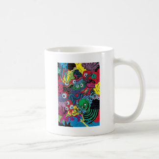 colorfull gouls coffee mugs