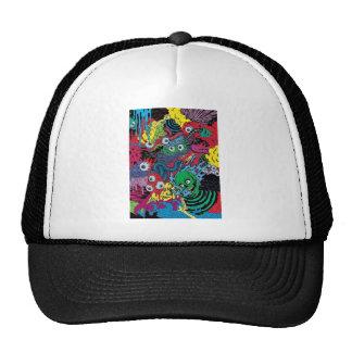 colorfull gouls trucker hat