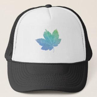 colorfull skeleton Leaf blue Trucker Hat
