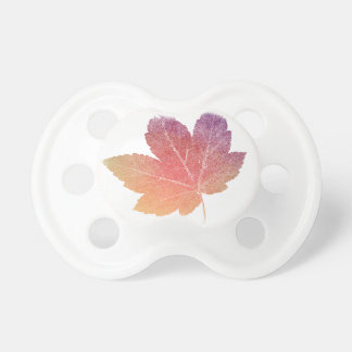 colorfull skeleton Leaf talk Pacifier