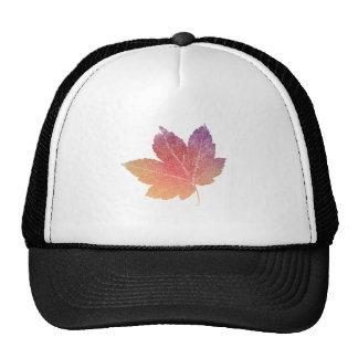 colorfull skeleton Leaf talk Trucker Hat