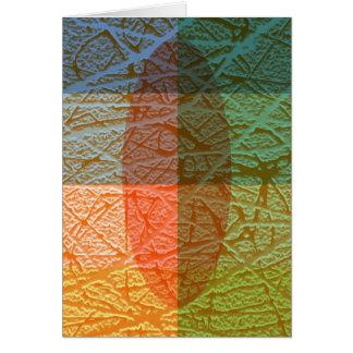 Colorfull skin card