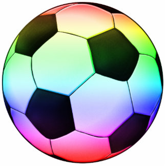 Colorfull Soccer Ball (football) Statuette