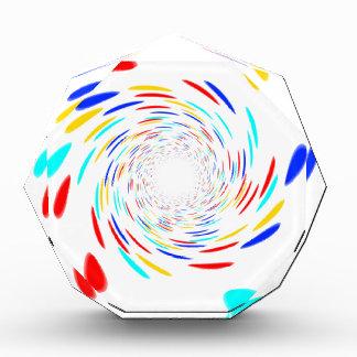 Colorfull Swirl Pattern Award