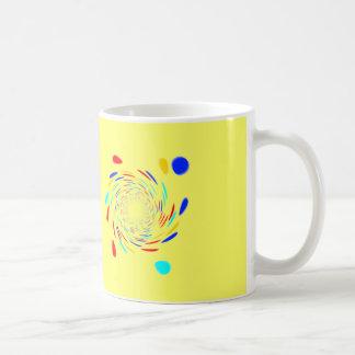 Colorfull Swirl Pattern Coffee Mugs